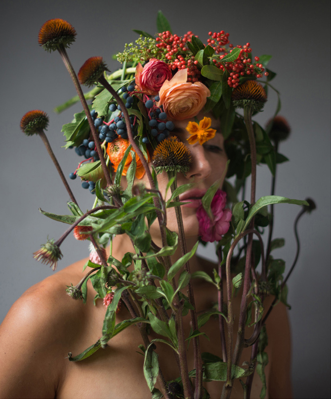 Flower Face photography by Kristen Hatgi Sink (7)