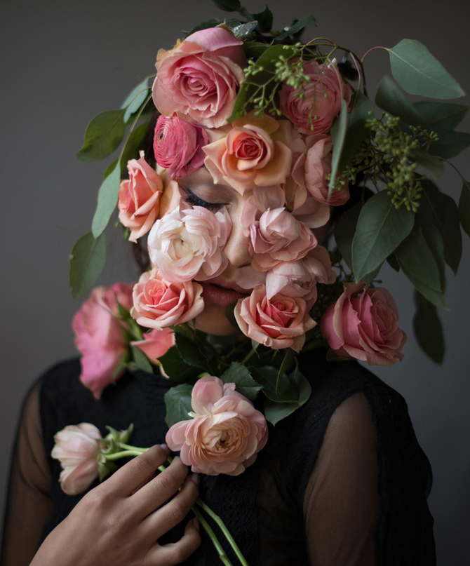 Flower Face photography by Kristen Hatgi Sink (8)