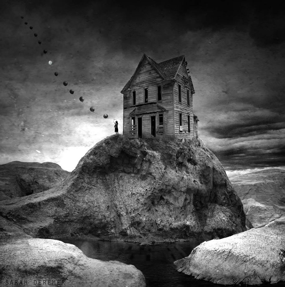 Surreal Black & White Photography by Sarah DeRemer (2)