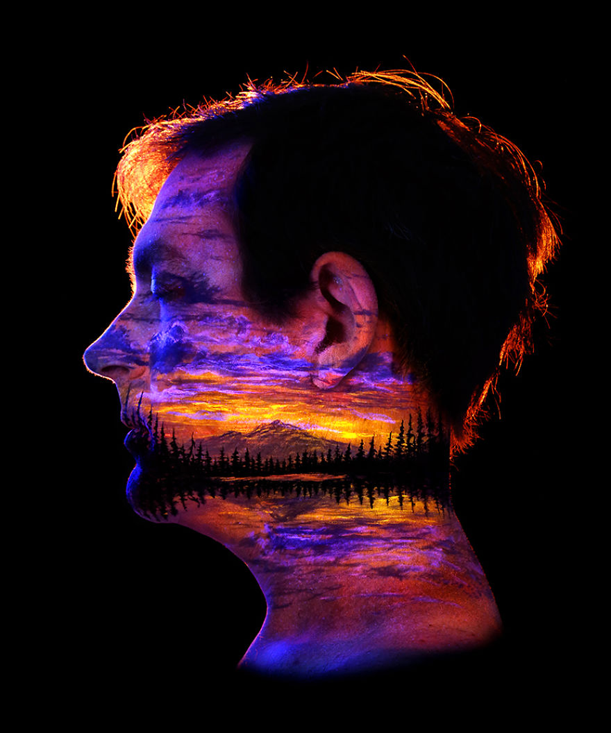 Under Black light Body Painting by John Poppleton (17)