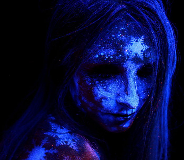 Under Black light Body Painting by John Poppleton (5)