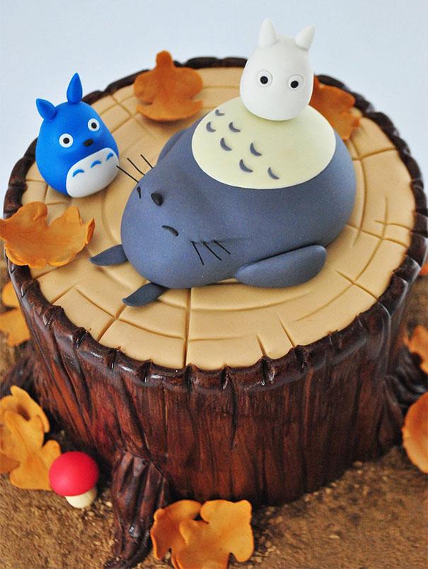 Adorable Totoro Cakes (1)
