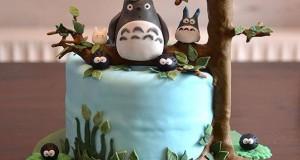 Adorable Totoro Cakes (2)