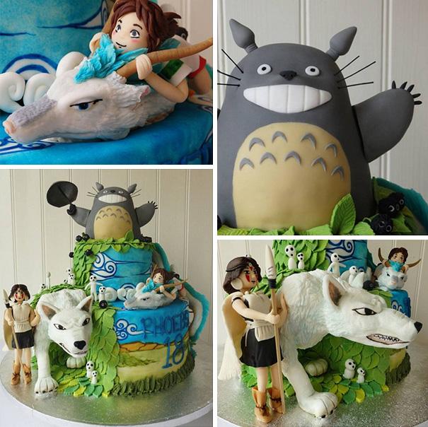 Adorable Totoro Cakes (3)