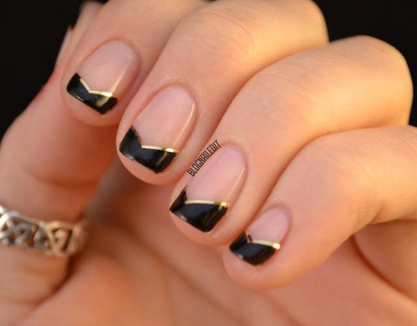 Lovely Metallic Nail Polish Ideas (1)