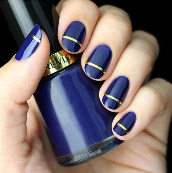 Lovely Metallic Nail Polish Ideas (11)