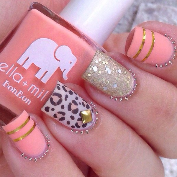 Lovely Metallic Nail Polish Ideas (13)