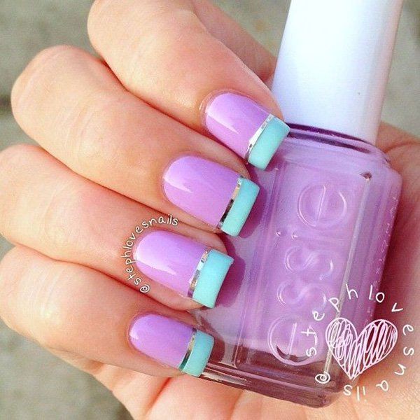 Lovely Metallic Nail Polish Ideas (15)