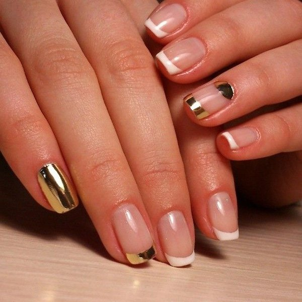 Lovely Metallic Nail Polish Ideas (16)