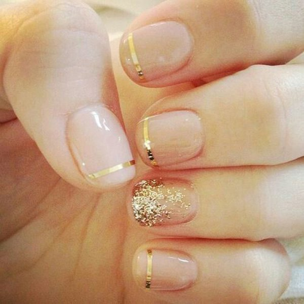 Lovely Metallic Nail Polish Ideas (17)