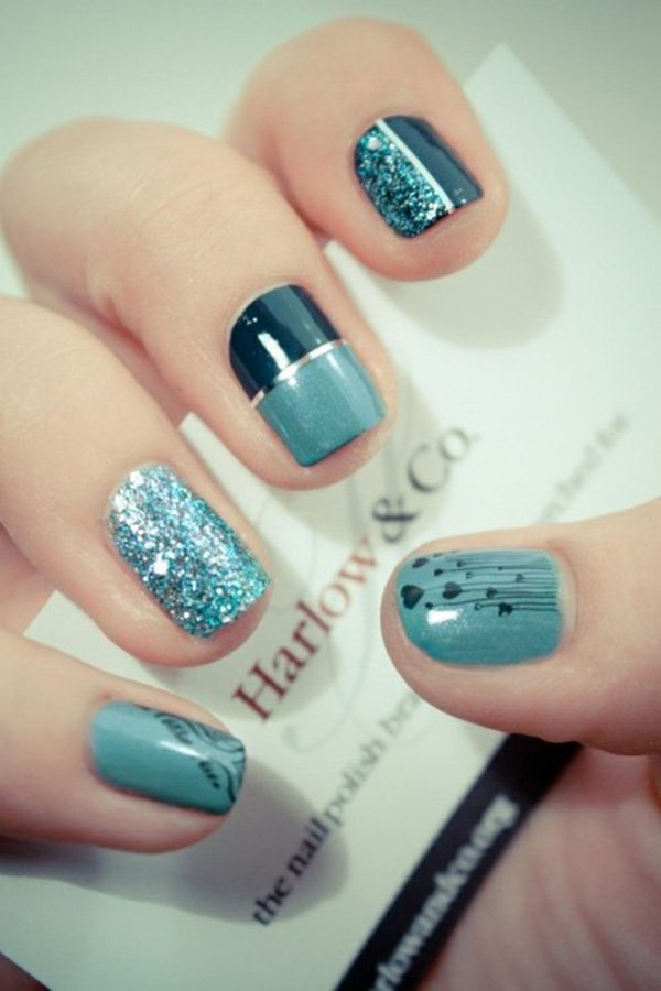 Lovely Metallic Nail Polish Ideas (18)