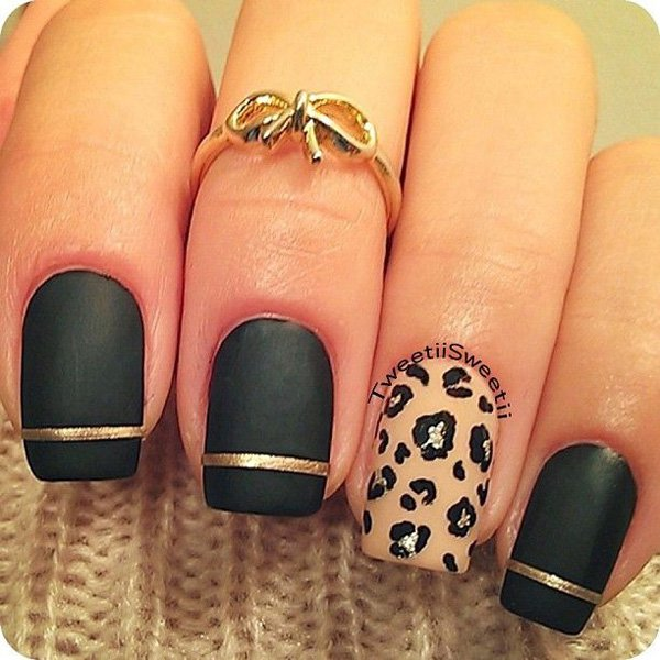 Lovely Metallic Nail Polish Ideas (2)