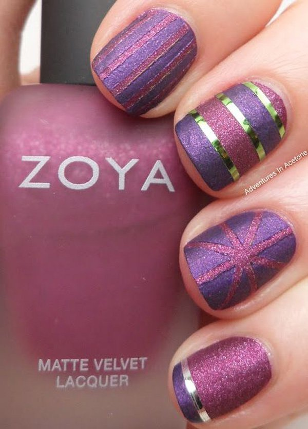 Lovely Metallic Nail Polish Ideas (20)
