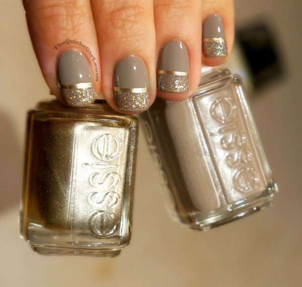Lovely Metallic Nail Polish Ideas (23)
