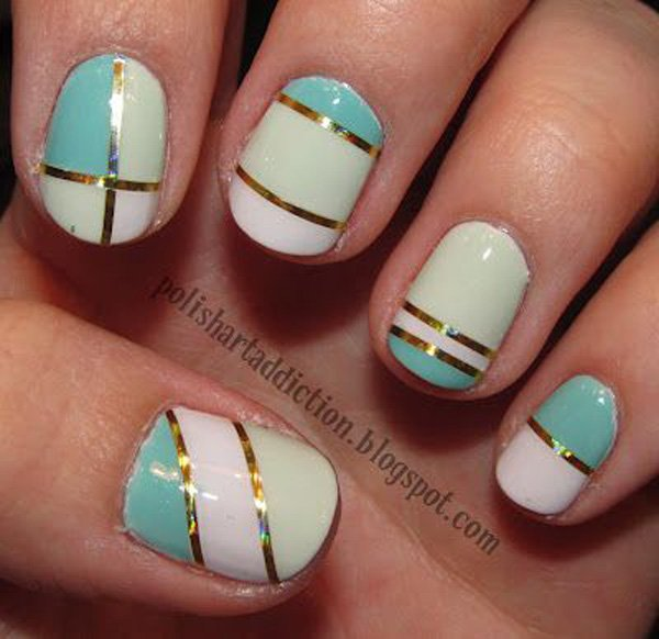 Lovely Metallic Nail Polish Ideas (28)