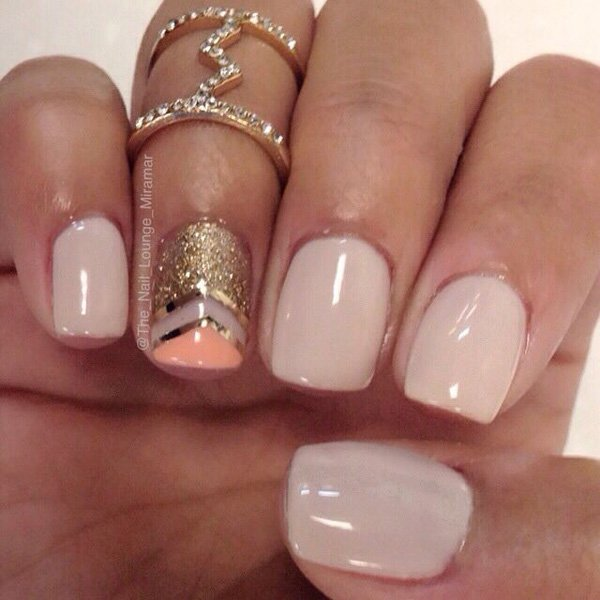 Lovely Metallic Nail Polish Ideas (37)