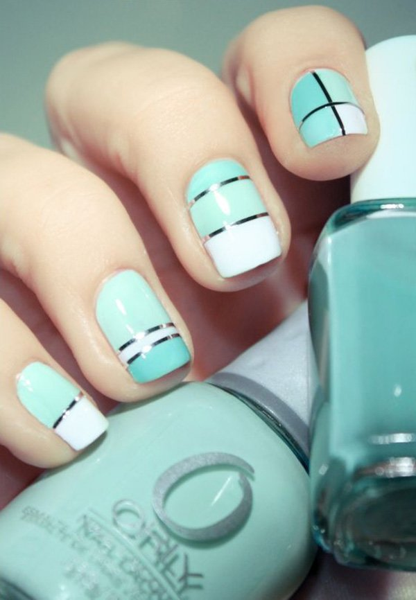 Lovely Metallic Nail Polish Ideas (39)