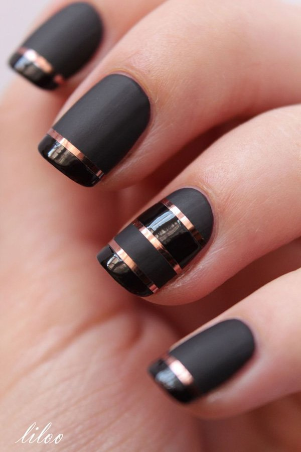 Lovely Metallic Nail Polish Ideas (4)