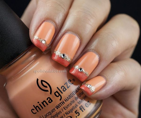 Lovely Metallic Nail Polish Ideas (40)