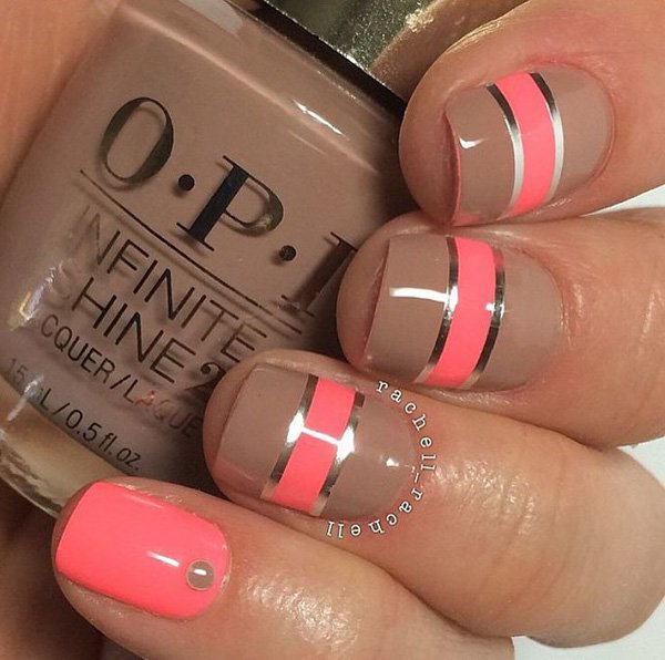 Lovely Metallic Nail Polish Ideas (42)