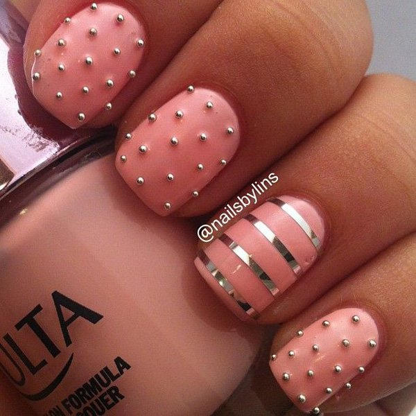 Lovely Metallic Nail Polish Ideas (46)