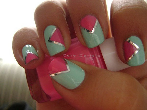 Lovely Metallic Nail Polish Ideas (5)