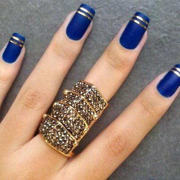 Lovely Metallic Nail Polish Ideas (52)