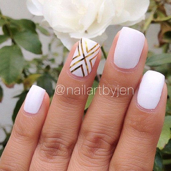 Lovely Metallic Nail Polish Ideas (54)
