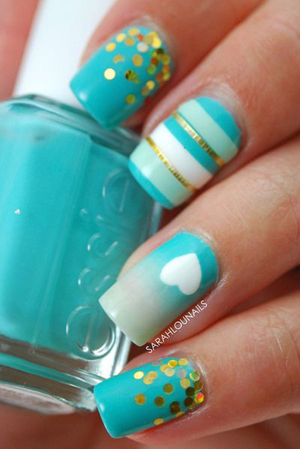 Lovely Metallic Nail Polish Ideas (6)