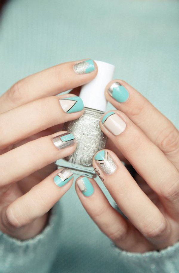 Lovely Metallic Nail Polish Ideas (7)