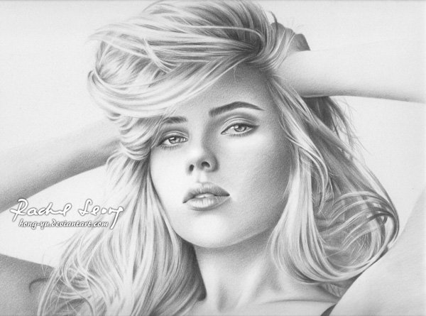 Pencil Drawings of Celebrities Portraits By Leong Hong Yu (1)