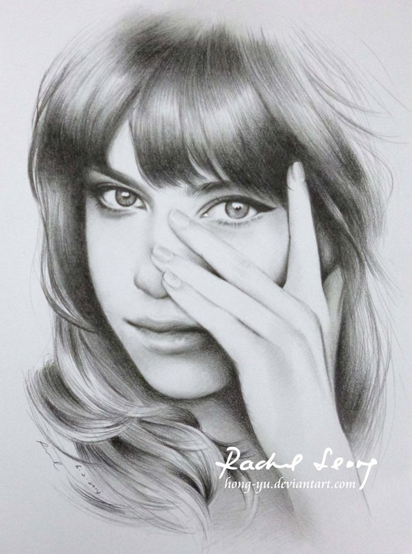 Pencil Drawings of Celebrities Portraits By Leong Hong Yu (10)