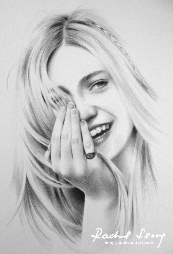Pencil Drawings of Celebrities Portraits By Leong Hong Yu (12)