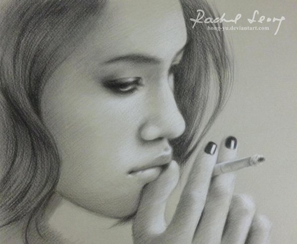 Pencil Drawings of Celebrities Portraits By Leong Hong Yu (15)