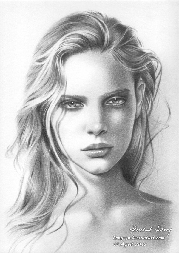 Pencil Drawings of Celebrities Portraits By Leong Hong Yu (16)