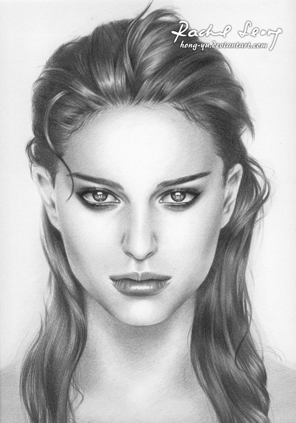 Pencil Drawings of Celebrities Portraits By Leong Hong Yu (17)