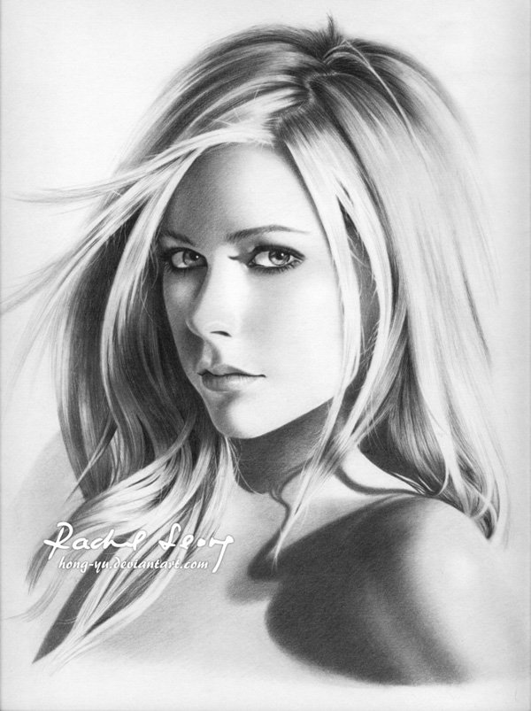 Pencil Drawings of Celebrities Portraits By Leong Hong Yu (6)