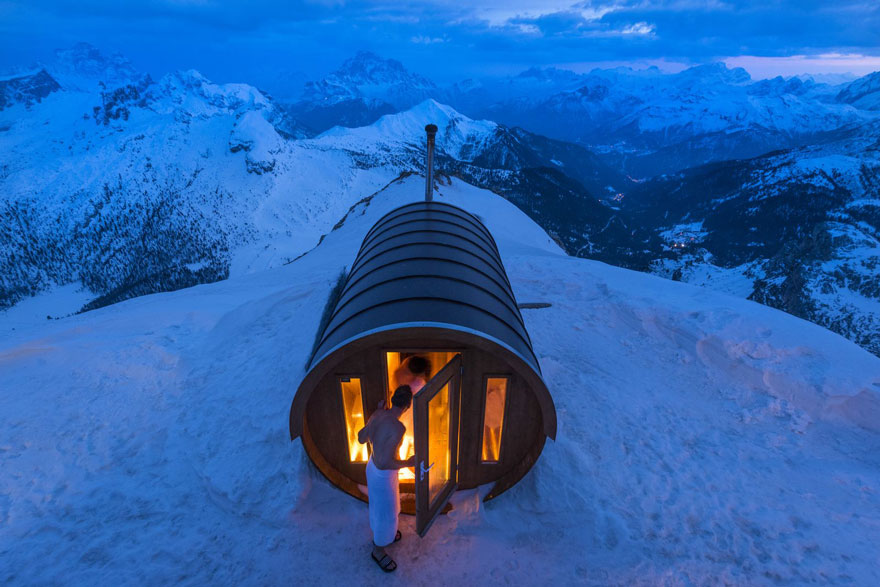 Sauna in the Sky