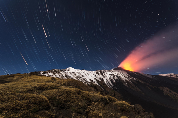 Night on Etna #3 by Marco Calandra on 500px