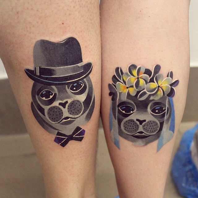 Best Matching Tattoos For Couples (10)