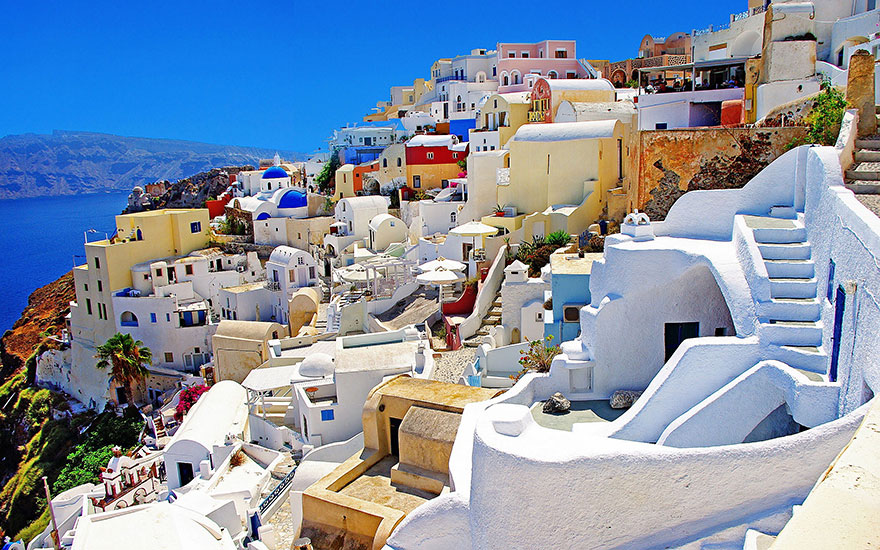 #10 Walking Around Santorini Island, Greece