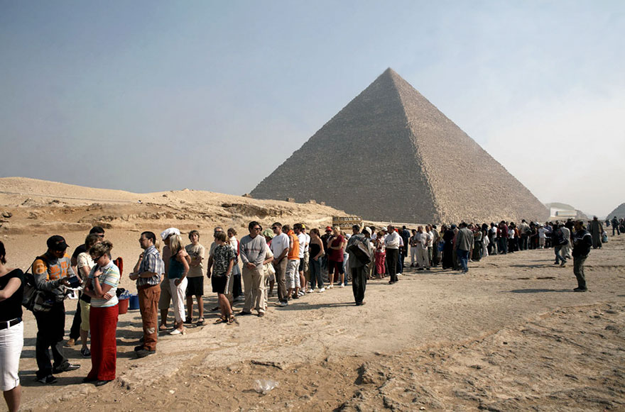 #13 Visiting Pyramids Of Giza In Cairo, Egypt-1