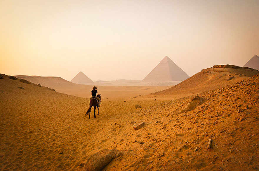 #13 Visiting Pyramids Of Giza In Cairo, Egypt