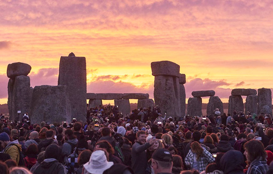 #14 Watching The Stonehenge During Sunset, United Kingdom-1