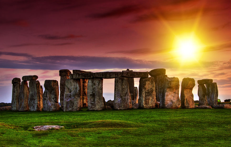 #14 Watching The Stonehenge During Sunset, United Kingdom