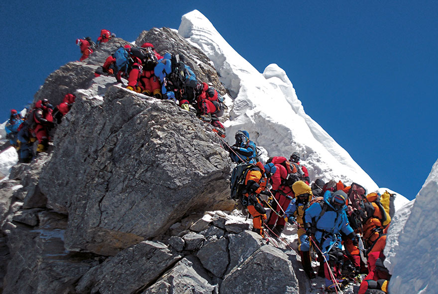 #15 Climbing Mount Everest, Nepal-1