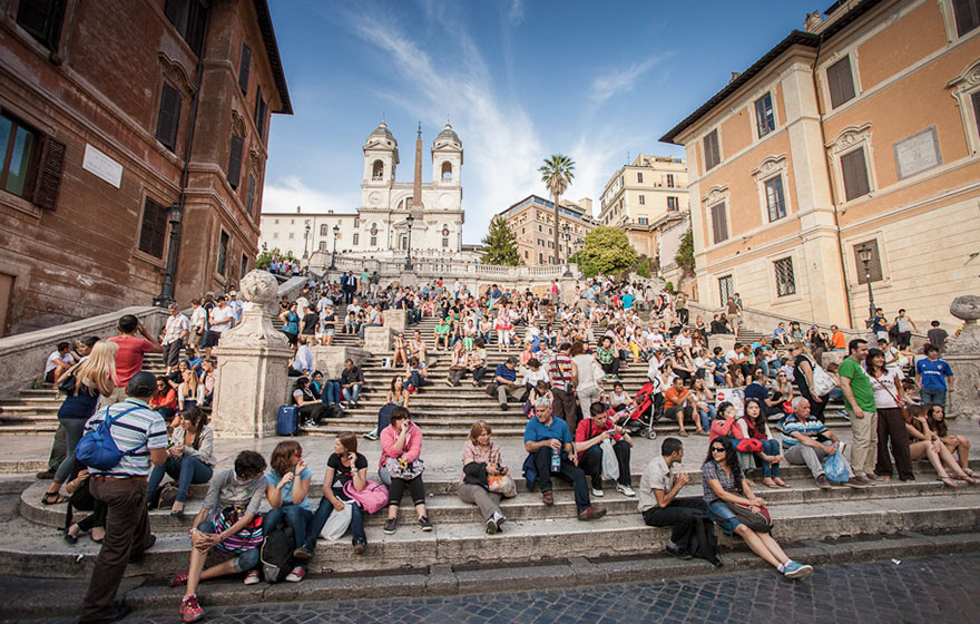 #16 Hanging Out At The Spanish Steps In Italy With Your Sweetheart-1