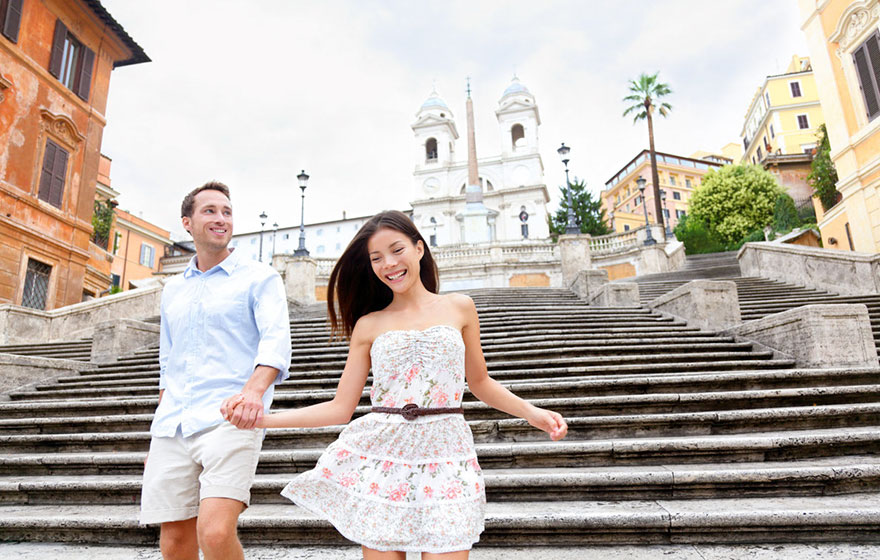 #16 Hanging Out At The Spanish Steps In Italy With Your Sweetheart
