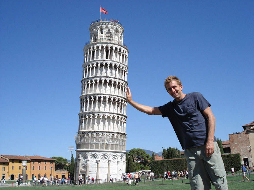 #2 Taking Photos With Leaning Tower Of Pisa In Italy