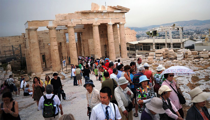 #20 Visiting The Acropolis Of Athens, Greece-1